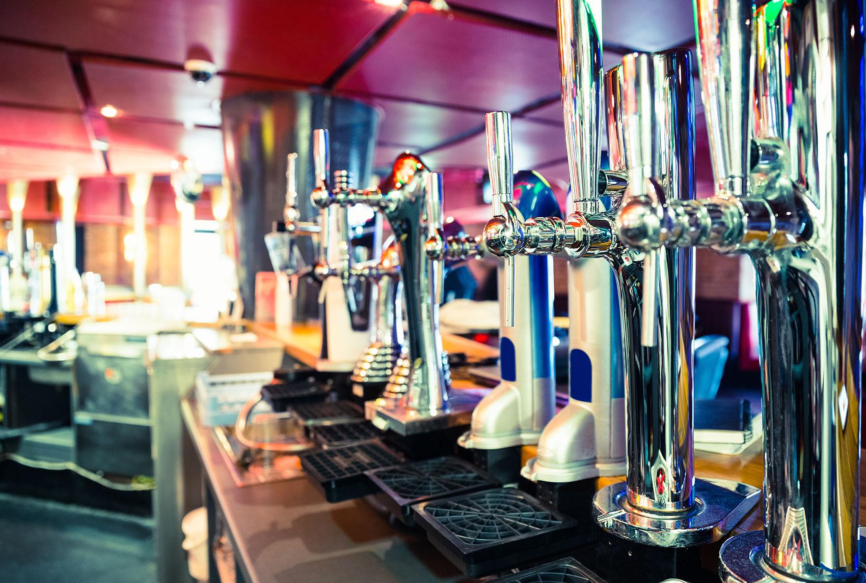 Agencement de bar professionnel à lyon